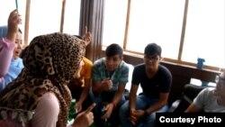 Para pengungsi di Cisarua Refugee Learning Cente (Dok: Anggi Nurqonita, Irene Angela)
