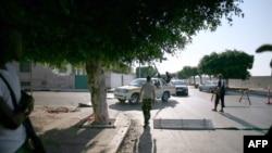 Pobunjenički kontrolni punkt u Tripoliju