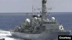 រូបឯកសារ៖ នាវាចំបាំង HMS Richmond របស់ចក្រភពអង់គ្លេស។