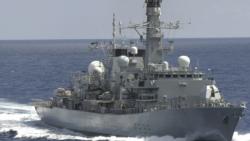 VOA连线:黄介正 中国大陆没有法律依据禁止或阻绝其它国家的船舰通过台湾海峡