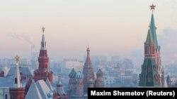 ماسکو کے سینٹ بیسل کیتھیڈرل کا ایک منظر (فائل فوٹو)