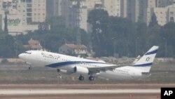 Balafira rêwîtiyê ya Boeing 737-ê ya El Al Airlines 31 Tebax,2020.