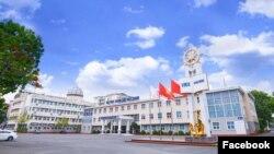 Trường Đại học Hàng hải Việt Nam ở Hải Phòng. Photo Facebook Đại học Hàng hải Việt Nam.