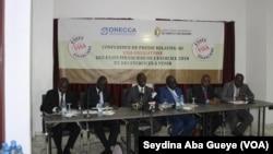Conférence sur le visa des états financiers, à Dakar, le 19 avril 2019. (VOA/Seydina Aba Gueye)