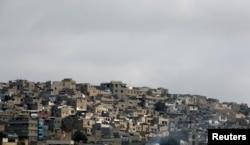 کراچی کی ایک مضافاتی آبادی کا منظر