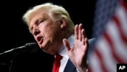 Tổng thống tân cử của Mỹ Donald Trump.