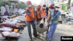 مرگ صدها زائر در جریان مراسم حج- منا - عربستان سعودی