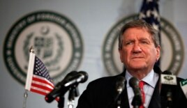 Richard Holbrooke, the U.S. special representative to Pakistan and Afghanistan, listens to a question during a news conference in Islamabad June 19, 2010.