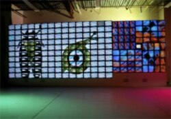 """Nam June Paik's """"Megatron/Matrix"""""""