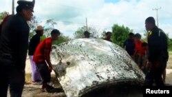 မေလးရွားခရီးသည္တင္ေလယာဥ္ MH370 အပိုင္းအစ တခ်ိဳ႕