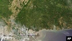 بهرپرسـانی پایه بهرز بهرهو سـتانی لویزیانا بهڕێدهکهون بۆ له نزیکهوه ئاگابوون له لێچوونی نهوتی بیرهکهی نێو ئاوی دهریا
