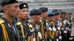 سربازان اردوی تاجکستان