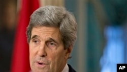 ທ່ານ John Kerry ລັດຖະມົນຕີຕ່າງປະເທດສະຫະລັດ