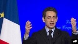 Sarkozy: Ciidamadeena waan la Baxeynaa