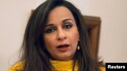 امریکہ میں پاکستان کی سفیر شیری رحمان
