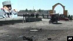 حملۀ انتحاری بر کاروان سربازان خارجی در افغانستان