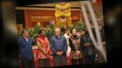 美国华人庆祝春节