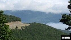 جنگل ابر در استان مازندران در نزدیکی علی آباد