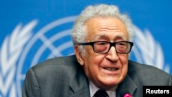 Izaslanik UN-a i Arapske lige za Siriju, Lahdar Brahimi