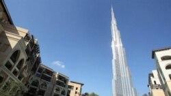 سقوط آزاد دو تن از ورزشکاران امارات متحده از برج خليفه