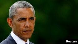 El presidente Barack Obama hizo declaraciones sobre la ofensiva de los yihadistas en Irak.