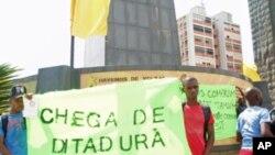 Angola suspeita que Paris e Washington estão a fomentar manifestações