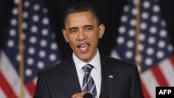 Президент США Барак Обама. Вашингтон. 13 апреля 2011 года