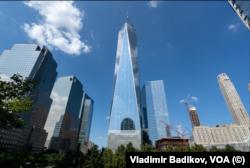Новое здание ВТЦ-1. Фото: Vladimir Badikov, VOA