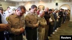 Suasana sholat Jumat di Islamic Center of San Gabriel Valley, Rowland Heights, California (Foto: dok).