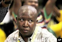 Referring to ANC leaders such as the party's controversial Youth League president Julius Malema, the DA says the ANC isn't the quality political organization it once was