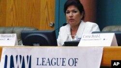 Роза Меза Харрисон на выборах в Конгресс в штате Техас