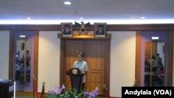 Menteri Luar Negeri Indonesia, Retno Marsudi (Foto: VOA/Andylala)