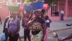 Morte de zungueira prova distúrbios em Luanda - 2:40
