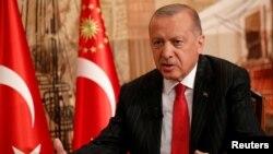 ترکی کے صدر رجب طیب ایردوان۔ (فائل فوٹو)