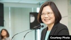 民主進步黨黨主席蔡英文(圖片來自DPP)