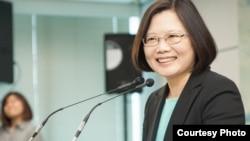 民主进步党党主席蔡英文(图片来自DPP)