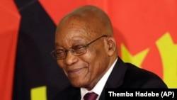 Le président sud-africain Jacob Zuma à Pretoria, 24 novembre 2017.