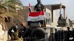 Irački vojnici u centru Ramadija