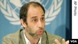 Tomas Ojea Quintana, pelapor khusus masalah HAM PBB untuk Birma.