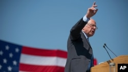 Mgombea urais wa Democrat, Bernie Sanders