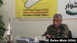 Cîgirê fermandarê giştî yê Artêşa Şoreşgeran Ahmed Sultan Ebu Araj