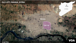 Old City Raqqa, Syria