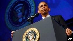 El presidente Obama se dirige a la Conferencia de Planned Parenthood en Washington.
