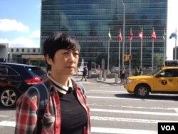 马永田,吉林省长春市被强拆私营企业业主 (美国之音方冰拍摄)