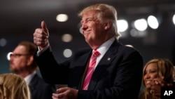 Ứng cử viên đảng Cộng hòa Donald Trump dẫn trước 2 điểm so với ứng cử viên Đảng Dân chủ Hillary Clinton trong cuộc khảo sát của CNN.