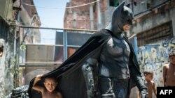 Batman, conçu aux Etats-Unis, est aujourd'hui célèbre dans le monde entier (Photo AFP)