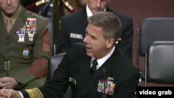 美軍印太司令部司令菲利普·戴維森在國會作證。 (2019年2月12日)