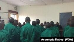 Abo ni abakekwa kuba abarwanyi b'umutwe wa RNC bari imbere y'urukiko rwa gisirikari mu Rwanda