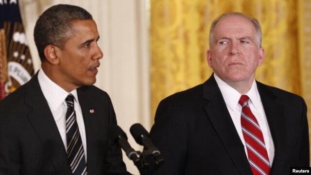 Serok Obama û John Brennan.
