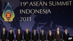 東南亞領導人出席星期四在印度尼西亞巴厘島揭幕的東盟會議。